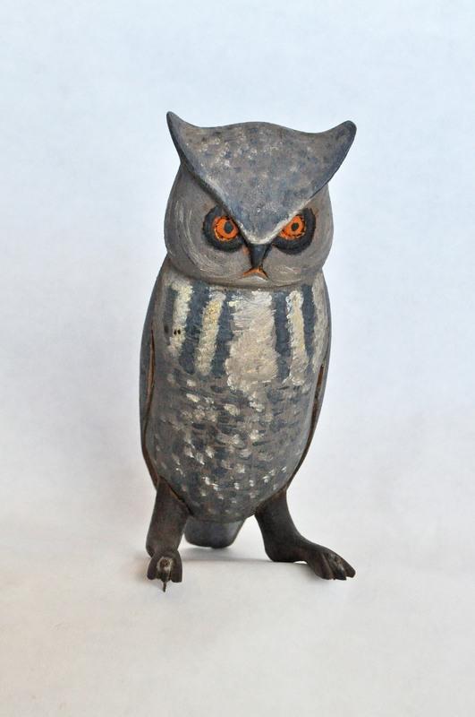 13. Small Gray Horned Owl Orange Eyes 1 352_0071FA.jpg