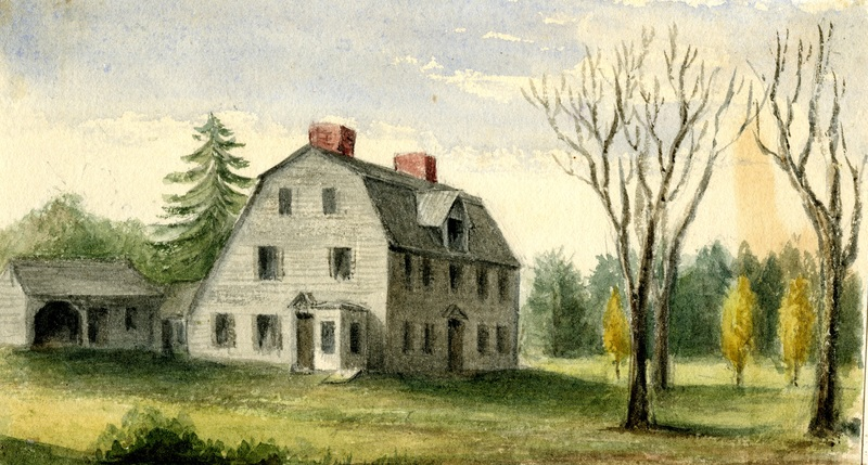 VP106_Hawthornes_old_Manse_Concord_6in.jpg