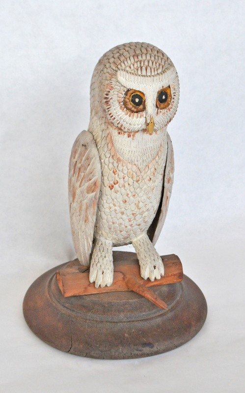5. Med White Owl on Stand1 379_0011FA.jpg