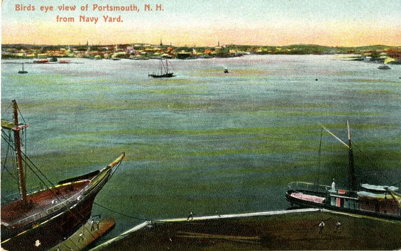 19. Air View, Bird's eye view of Portsmouth from Navy Yard_Front.jpg