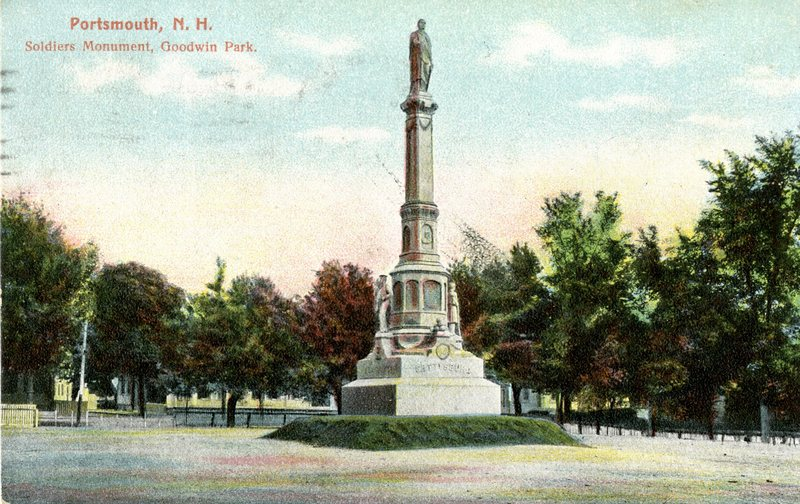 49. Goodwin Park Soldiers Monument 1 1908_Front.jpg