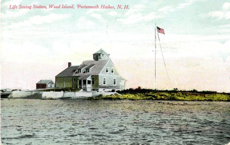 89. Portsmouth Harbor 2 Life Saving Station, Wood Island 1913_Front.jpg