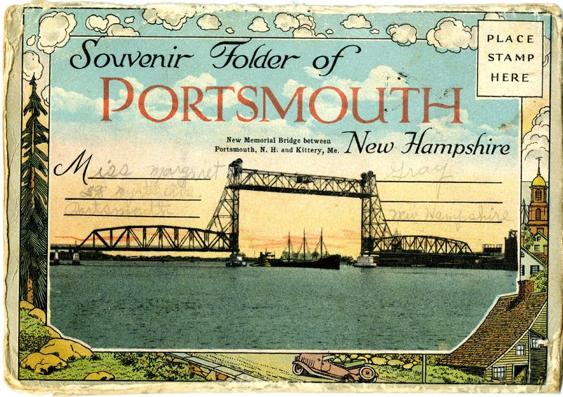 1. Large Souvenir Folder of Portsmouth Images 1_Front Cover.jpg