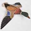 106. Flying flat Duck, wings colorful, head green 389_0060FA_5.jpg